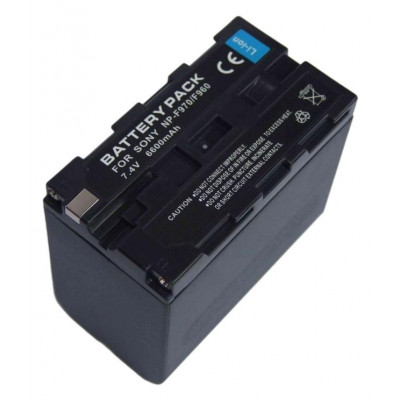Аккумулятор NP-F960/F970, 6600 мАч